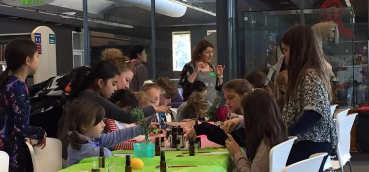 School holiday workshop at Burnside Library