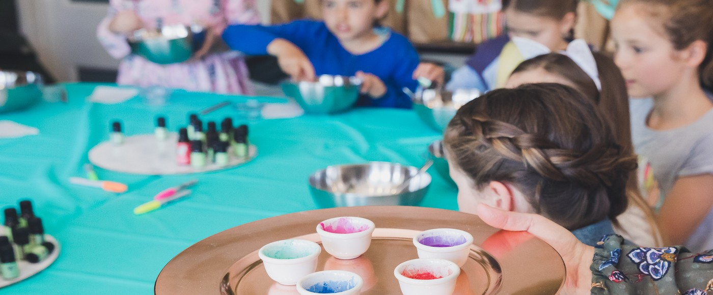 School holiday aromatherapy workshops are fun for the kids